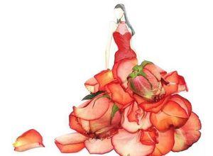 Çiçeklerle hayat bulan tasarımlar