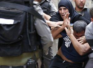 İsrail askerinden sert müdahale!