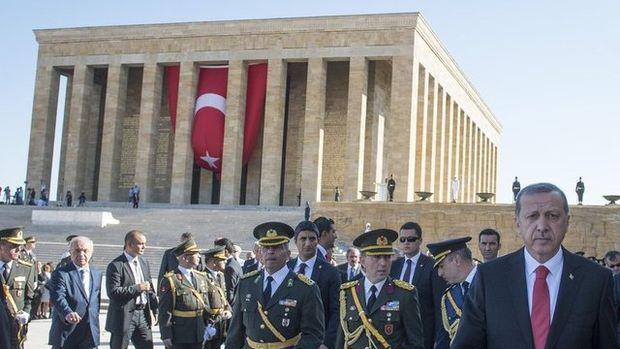 Zafer Bayramı'nın 93. Yılında Anıtabir'den kareler!
