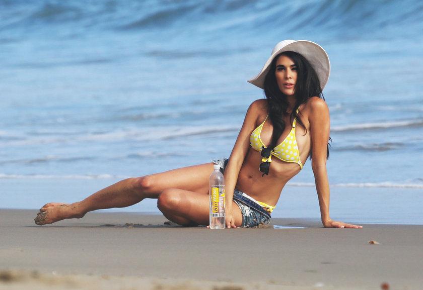 Malibu'da sıcak çekim