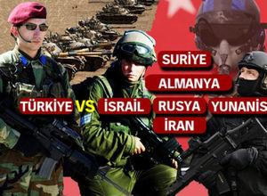 Ülkelerin savaş güçleri