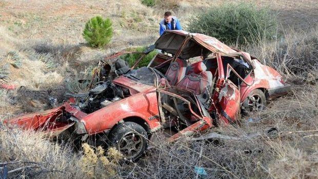 Aydın'da yaşanan kazadan görüntüler