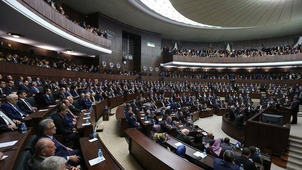 AK Parti grup toplantısından kareler