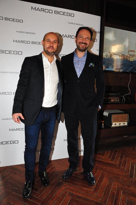 <p>MARCO BICEGO, ALEX BOLOTAS</p>