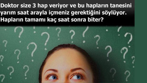 Eğer cevabı biliyorsanız...