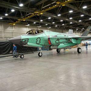 F-35'LER BÖYLE ÜRETİLİYOR...