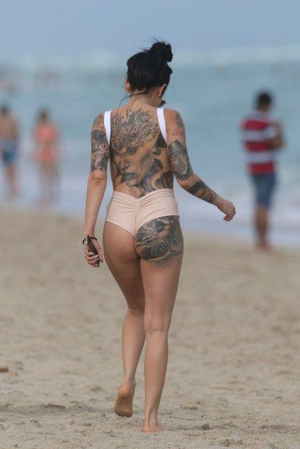 Cami Li plajda
