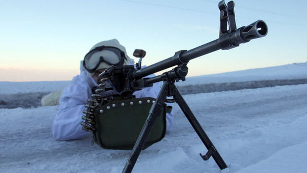 Vatan savunması soğuk dinlemiyor!
