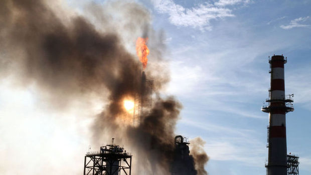 Tüpraş Rafinerisi'nde yangın