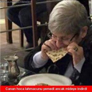 CANAN KARATAY KEBAP YEDİ SOSYAL MEDYA YIKILDI!