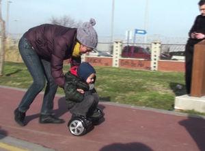 Türklerin hoverboard ile imtihanı