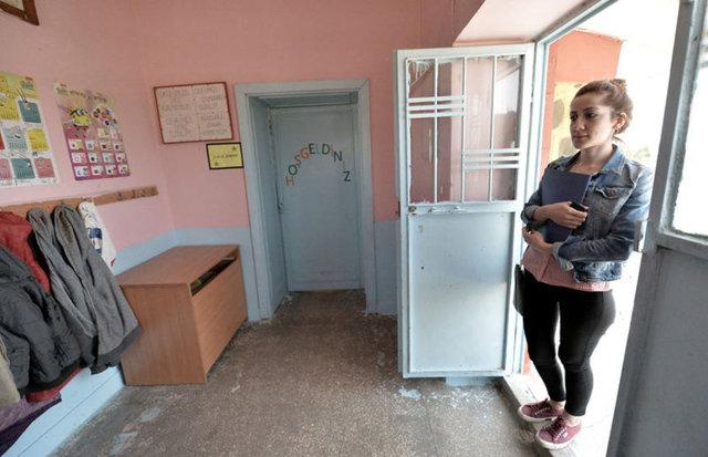 Kobani sınırındaki okulun İstanbullu öğretmeni