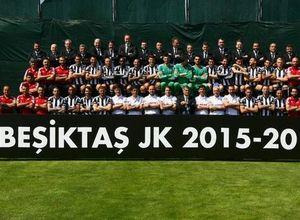 Beşiktaş'ın şampiyonluk posteri