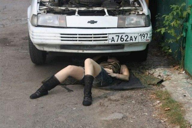 Rusya'da yaşayan Alisa'nın sıradışı bir hobisi var.