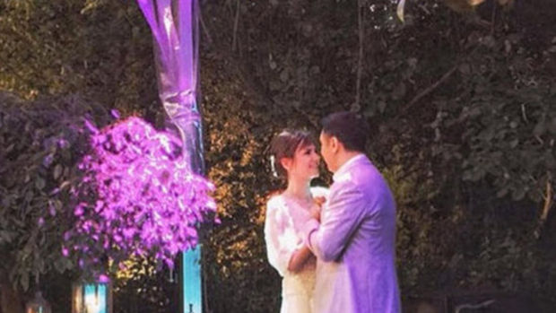 Sinem Öztürk ile Mustafa Uslu'nun düğünlerinden ilk kareler
