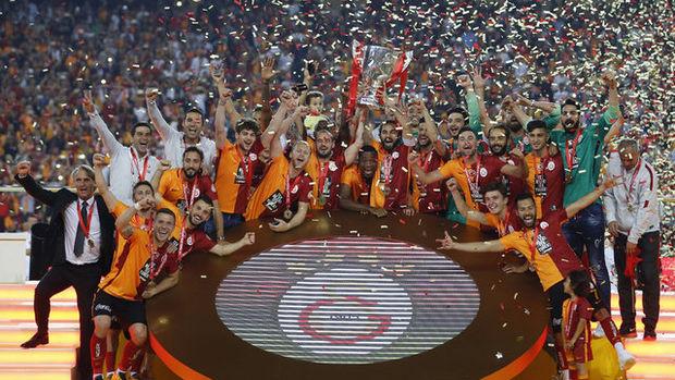 Galatasaray'ın kupa sevinci