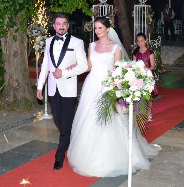 Oyuncu Cahit Kayaoğlu evlendi