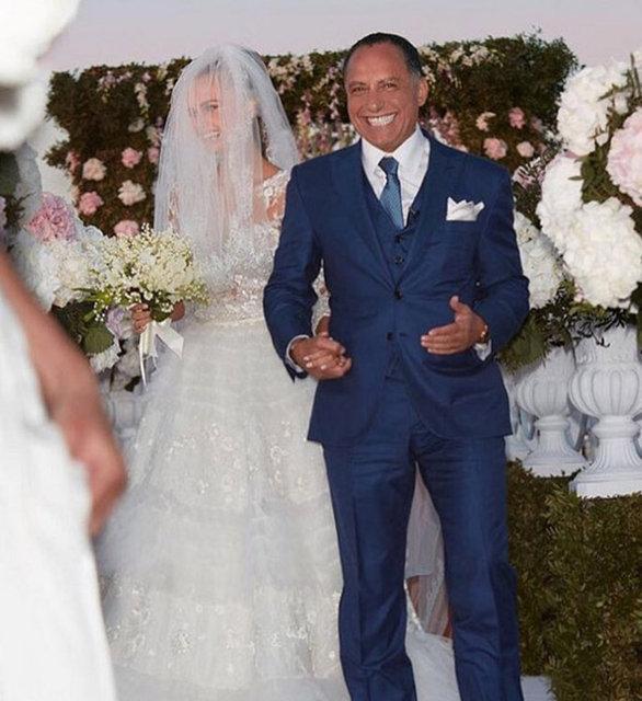 Justin Bieber'ın klip güzeli Xenia Deli evlendi