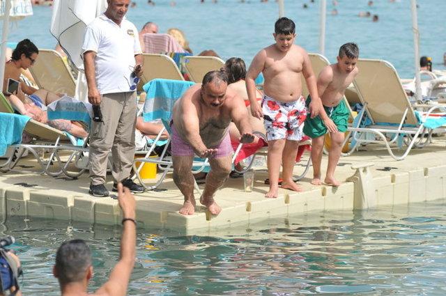 Bülent Serttaş'tan 100 dolarlık dalış