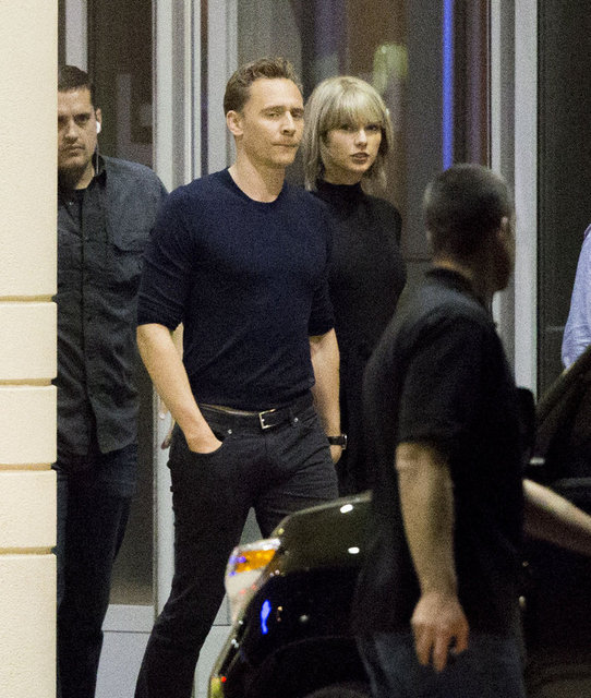 Tom Hiddleston ve Taylor Swift el ele