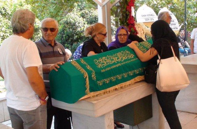 Nezih Tuncay'ın cenazesinden görüntüler