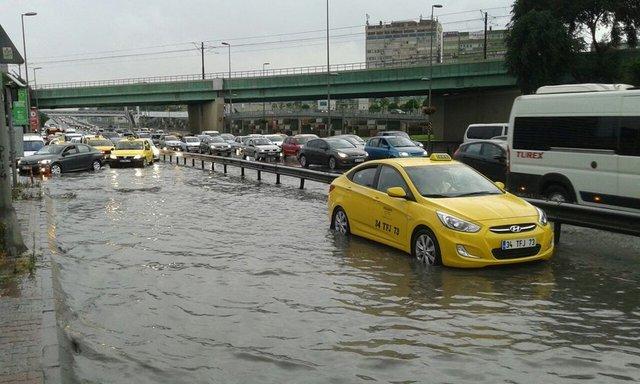 İstanbul'da sağanak