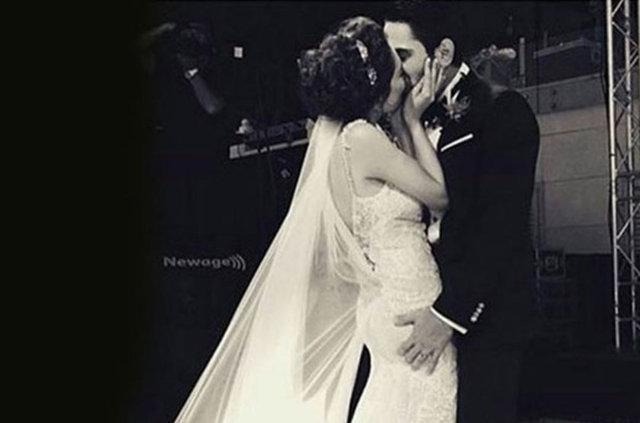 Kadir Doğulu ve Neslihan Atagül evlendi