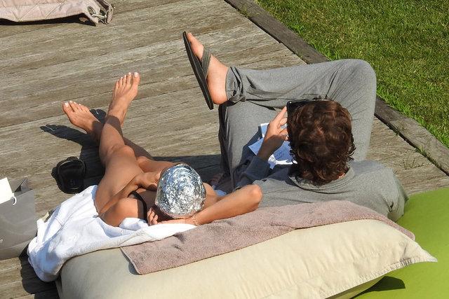 Irina Shayk sevgilisi Bradley Cooper'la tatilde