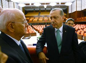 Cumhurbaşkanı Erdoğan'ın TBMM ziyaretinden kareler