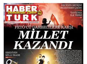Habertürk Türkiye'nin Demokrasi Zaferi Özel Eki