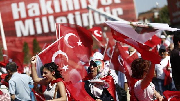 CHP'nin 'Barış ve Demokrasi Mitingi'nden kareler