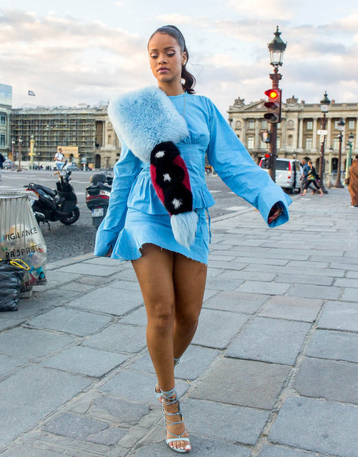 Kürklü Rihanna
