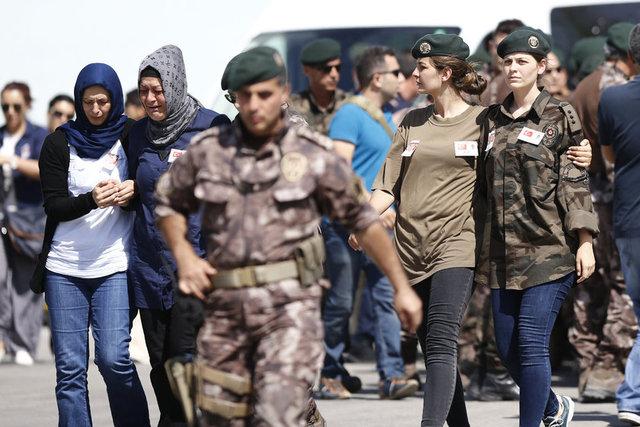 Şehit özel harekatçı Başkomiser Bülent Yurtseven için tören