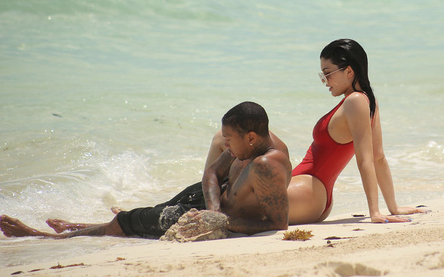 Kylie Jenner'in plaj partisi