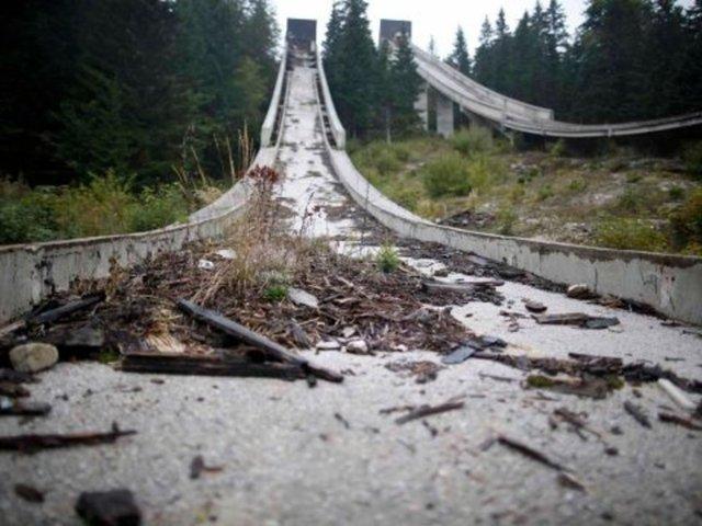 Terk edilen olimpik tesisler