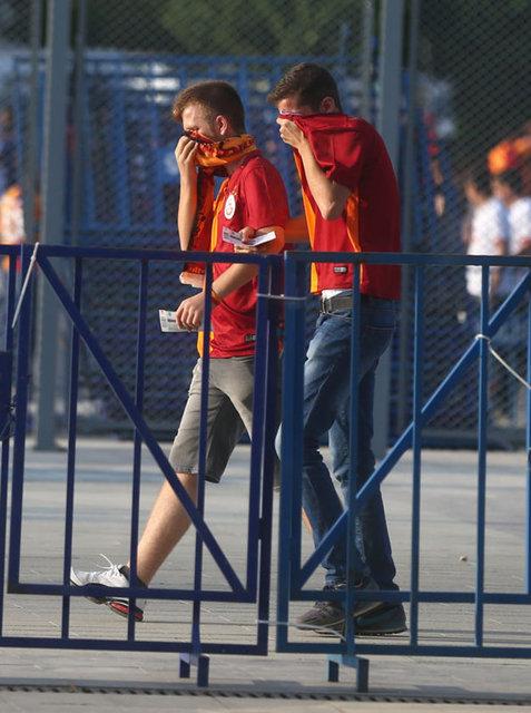 Süper Kupa finali öncesi olay çıktı