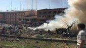 Elazığ'daki patlamadan ilk kareler