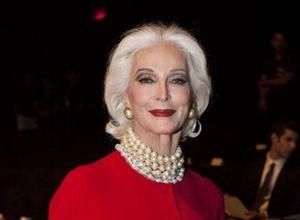 Dünyanın en yaşlı modeli Carmen Dell'Orefice