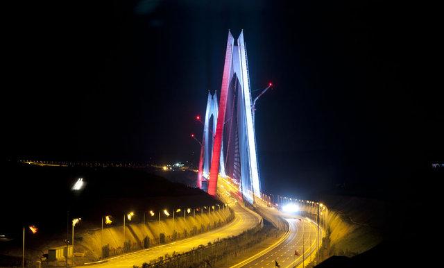 Yavuz Sultan Selim Köprüsü Rengrenk