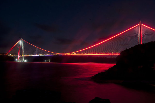 Yavuz Sultan Selim ışıl ışıl