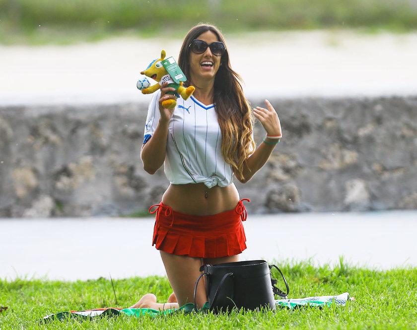 Claudia Miami'yi salladı