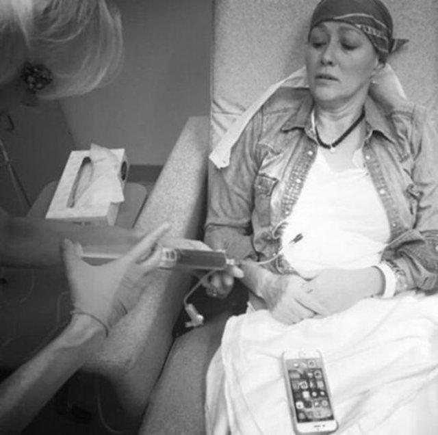 Shannen Doherty kanserle savaşını sürdürüyor