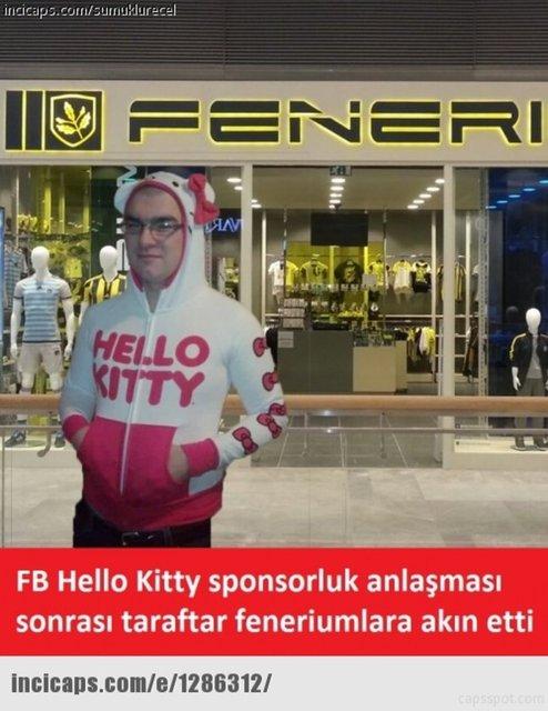 Fenerbahçe - Hello Kitty capsleri