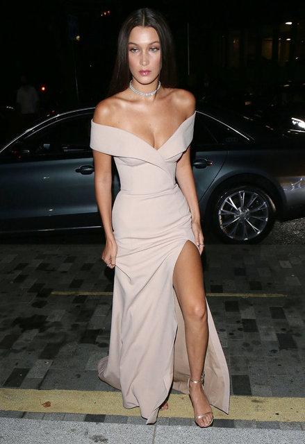 Çok sayıda ünlü ismin katılığı ödül töreninde yılın başarılı isimleri birer birer ödüllendirilirken, 19 yaşındaki genç model Bella Hadid, yılın modeli seçildi.