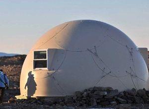 Güney Kutbu'nun tam ortasında!..