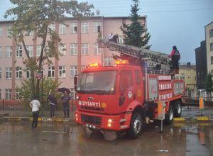 Trabzon'da sel felaketi 2 ölü, 1 kayıp