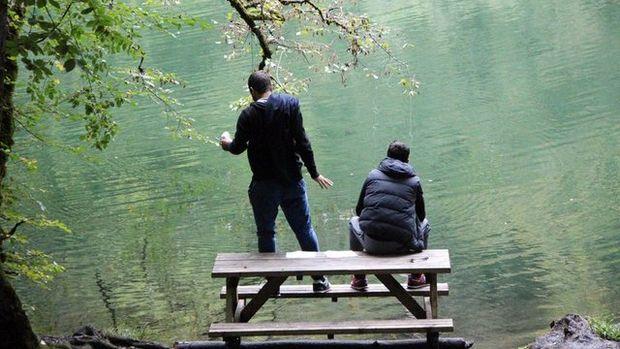 Yedigöller Milli Parkı'na ziyaretçi akını