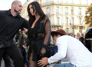Vitalii Sediuk, Kim Kardashian'ı öpmeye çalıştı
