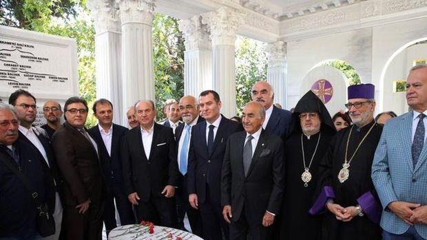 Saray mimarları Balyan Ailesi'nin anıt mezarı açıldı