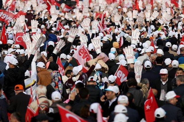 Yenikapı'da referandum mitingi